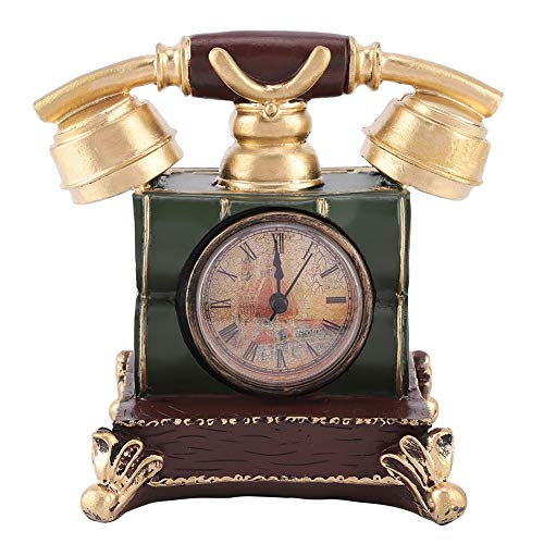 Wifehelper Vintage Retro Antieke Telefoon Landline Telefoon Geld Doos Thuis Bureau Decor Ornament Fotografie Props