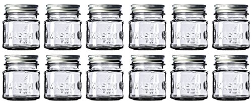 8 oz Mason Jars with Lids and Bands (12-Count)