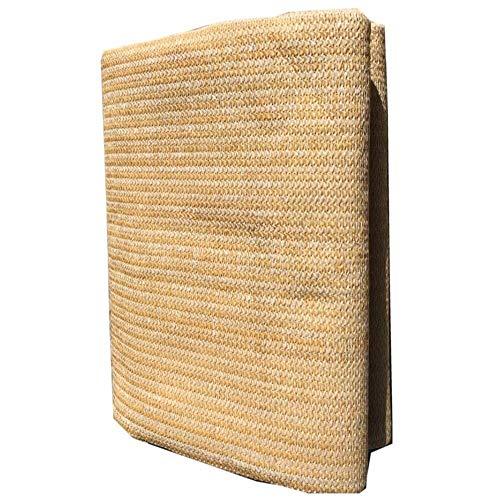 XHEYMX-Camouflage ne Schatten Netto-Borte Punch verschlüsselt Sonnenschirm Ma Gold Schatten Tuch Sonnenschutz- und Wärmedämmungs-Außenleuchte für C (Size : 3 * 3m)
