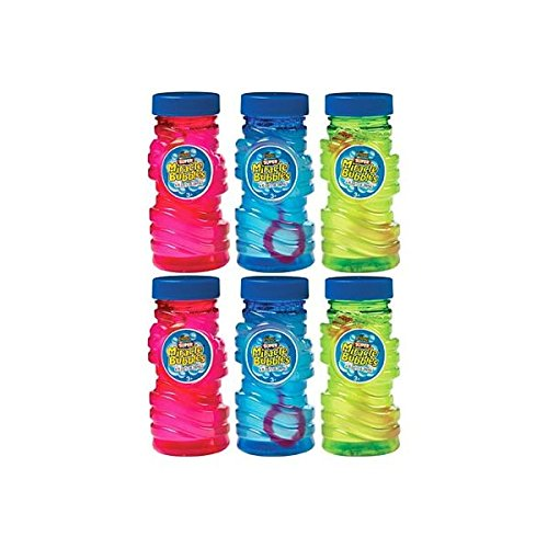 Super Miracle Bubbles | Party Favor | Pack of 6