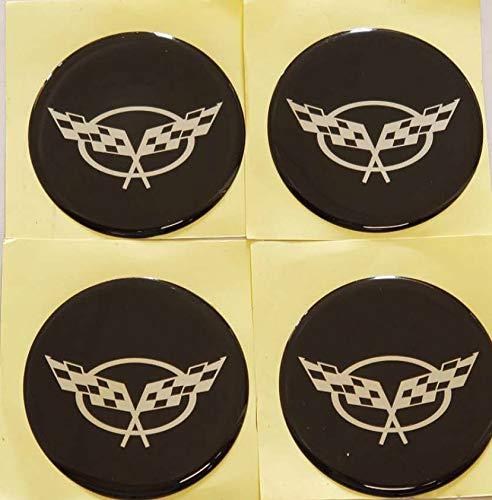 corvette wheel emblem - 2