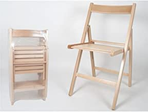 Amazon.es: silla plegable madera
