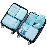 8 Kleidertaschen-Set Reise Gepäck Organizer-Tasche Koffer Wäschebeutel Kosmetik...