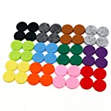 RoyAroma 17mm (2/3 inch) Replacement Felt Pads(48 pieces) for 25mm Essential Oil Diffuser Locket...