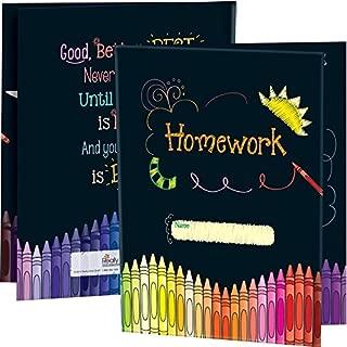 Really Good Stuff Homework Tri-Fold 3-Pocket Folders