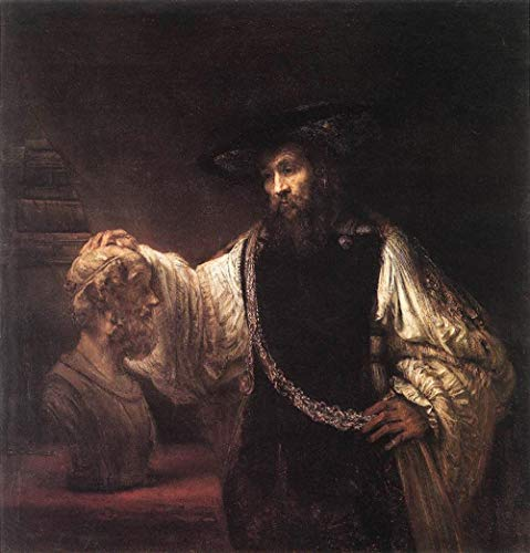 Pintura al óleo digital de bricolaje Rembrandt Pintura famosa