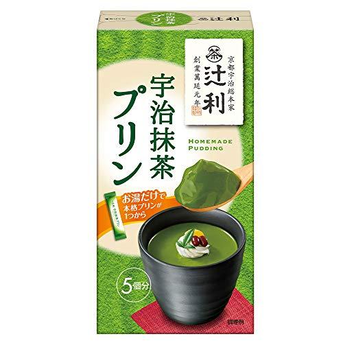 片岡物産 辻利 宇治抹茶プリン 15.0g×5本×30箱入