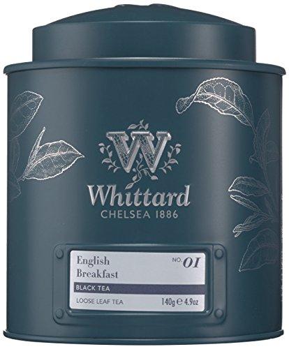Whittard of Chelsea English Breakfast Loose Leaf Tea Caddy, 1er Pack (1 x 140 g)