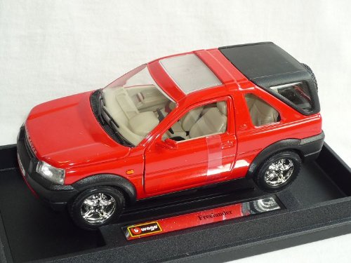 Bburago Land Rover Freelander Rot 1/24 Burago Modellauto Modell Auto