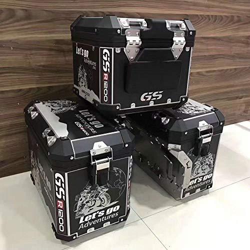 Pegatinas Decorativas de Equipaje Personalizadas para Maletero de Motocicleta para BMW R1200GS / ADV