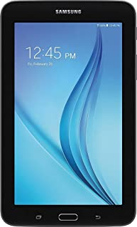 Samsung Galaxy Tab E Lite Flagship Premium 7 inch Tablet PC | Spreadtrum T-Shark Quad-Core | 1GB RAM | 8GB Storage | 32GB MicroSD Card | Bluetooth | GPS Enabled | Android 4.4 KitKat OS | Black