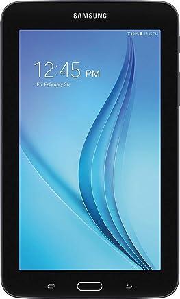 Samsung Galaxy Tab E Lite Flagship Premium 7 inch Tablet PC | Spreadtrum T-Shark Quad-Core | 1GB RAM | 8GB Storage + 32GB MicroSD Card | Bluetooth | GPS Enabled | Android 4.4 KitKat OS | Black