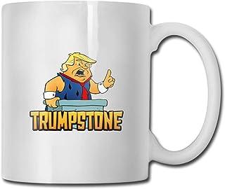Tasse à café en céramique Trumpstone Ideas Mug Meilleure tasse de cadeau pour la famille et l'anniversaire