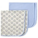 Gerber Baby 2-Pack Thermal Receiving Blanket, Hello Bear, One Size