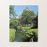 Senso-Ji Temple Garden In Asakusa, Tokio, Japón Jigsaw Puzzles 1000 piezas, desafiantes y educativos Juegos Juguetes, pintura abstracta Puzzle para niños adultos