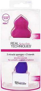 Real Techniques 2 Miracle Sponges (6 Pack): Amazon.es: Belleza