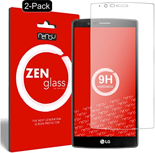 ZenGlass [2 Stück Flexible Glas-Folie kompatibel mit LG G4 Panzerfolie I Display-Schutzfolie 9H
