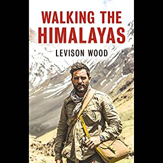 Walking the Himalayas audiobook cover art