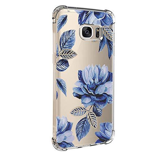 Case für Samsung Galaxy S6 Hülle Transparent Handyhülle Weiche Silikon Gel TPU Bumper Durchsichtig Schutzhülle Kreativ Muster Handytasche case für Samsung Galaxy S6 (5)