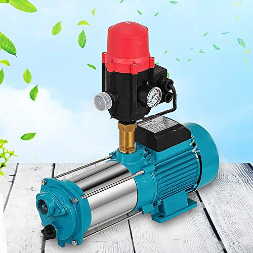 Tuinpomp 1300 Watt 6000 l/h 10bar jetpomp huiswatersysteem centrifugaalpomp 220V