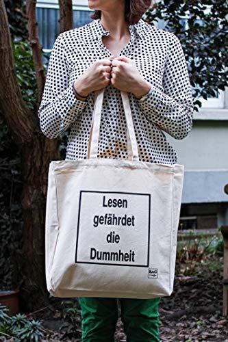 BagCouture   stijlvolle canvas tas   katoenen tas   boodschappentas   bedrukt   met 2 lange hengsels   Zij- en bodemplooi   38x42x10cm