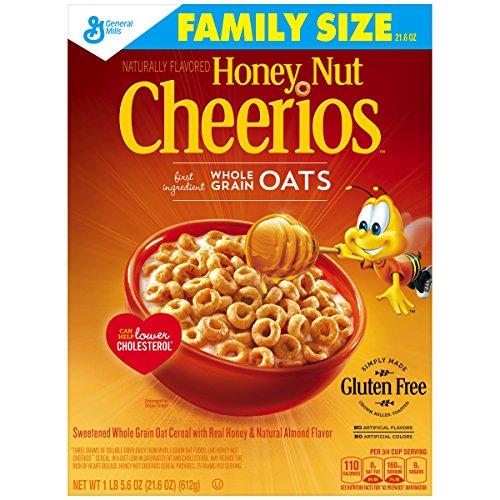 Honey Nut Cheerios Cereal 21.6 oz