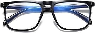 elegante Blue Light Blocking Blue Cut anti-glare Square Eyeglasses, Robert Downey Jr Frame for Eye Protection from UV by C...