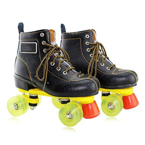 GFYWZ Rollschuhe, Adult Double Row Skates, Outdoor Sport Rollschuhe Row Skates Rollschuhe Inline Skates Für Jungen Und Mädchen,A,45