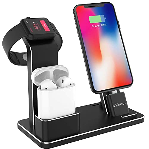 YoFeW Charging Stand for Apple Watch Aluminum Watch Charging Stand Dock Holder Compatible for iWatch Apple