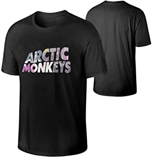 Arctic Monkeys Men T Shirts Mens Stylish Tee Shirt Black