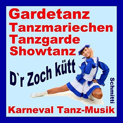 Karneval Tanzmusik Gardetanz Tanzmariechen Tanzgarde Showtanz (Mariechen Musik)