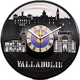 Reloj de Valladolid Fabricado en Disco de Vinilo con los monumentos más significativos de la Ciudad…