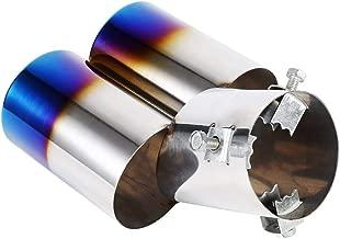 45mm M18 x 1.5 2Pcs Universel O2 Adaptateur dCapteur Doxyg/ène Spacer Extender Bondes Jaune Pour Les Syst/èmes d/Échappement