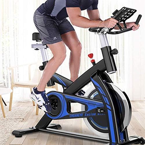 Bicicleta de ejercicios Ciclismo interior, manillares ajustables Resistencia al asiento, la pantalla electrónica lee las calorías de la distancia de la distancia de la velocidad, con la bicicleta de g