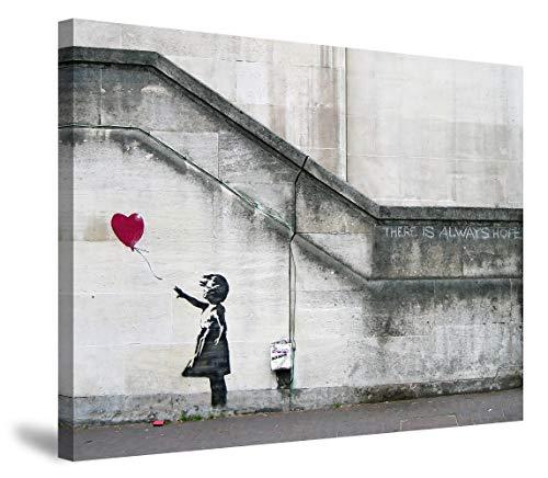 My Life バンクシー 女の子 赤い風船 ポスター バンクシー アートパネル アートフレーム モダン ポスター バンクシー フレーム装飾画 キャンバス絵画 アートボード 部屋飾り 壁の絵 壁掛け ソファの背景絵画 木枠セット(40*50cm)