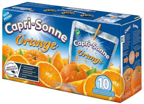 Capri Sonne Orange, 2er Pack (2 x 2 l Getränkekarton)