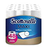 Scottex Scottonelle Carta Igienica, Confezione da 48 Rotoli Maxi