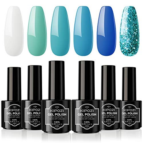 (45% OFF) Gel Nail Polish Set 6 Colors $9.34 – Coupon Code