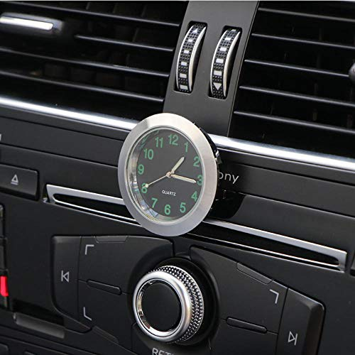 Reloj de coche Adornos Mecánica Cuarzo Mini Coche Ventilación de aire Clip Reloj Reloj Car-Styling Auto Decoración