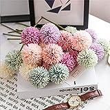 30 cm de seda diente de león ramo de flores artificiales para la boda decoración del partido del hogar arreglo barato falso hortensias flor