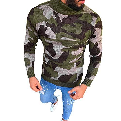 FRAUIT Mannen hemd Fashion Bodycon Trick Rolkraag Pullover Mannen met lange mouwen Warm ademend Comfortabel Thermo Ondergoed Vrije tijd Party TanzParty Top blouse 100% katoen M-3XL