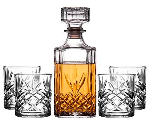 Listado de Licoreras de vidrio, tabla con los diez mejores. 1