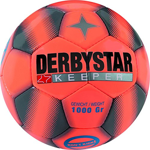Derbystar Keeper, 5, orange grau orange, 1058500797