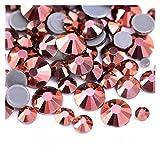 QQINGHAN Rhinestone Flatback mejor cristal Hotfix Rhinestone Glitter Iron On Rhinestones ropa (color: 0034, tamaño: SS8-1440pcs)