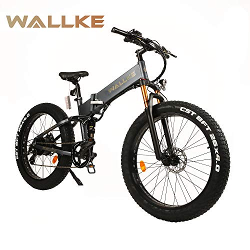 W WALLKE X3 Pro 26-inch Fat Tire Electric Bicycle