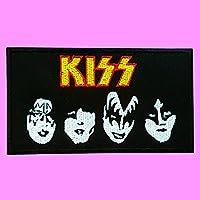 KISS バンドヘビーメタル刺繍パッチ面 > ▽素敵なパッチ # HUGTY 346953785406 のようにハードロック音楽鉄