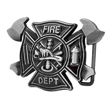 fire department belt buckle