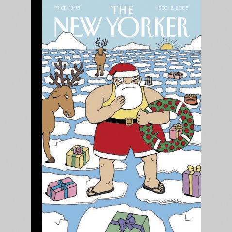 The New Yorker (Dec. 12, 2005) audiobook cover art