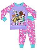 Paw Patrol Pijamas para Niñas Ajuste Ceñido Multicolor 3-4 años