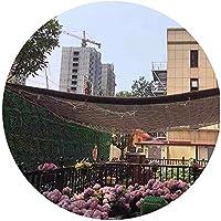 DJZYB HDPEサンシェイドネッティングブルー/レッド/コーヒー屋外シェード帆パティオガーデンカバーブロック85%シェードレートジューシーな植物シェードネット(カラー、コーヒー、サイズ、6x8m)、コーヒー、2x2m Z4Y0B8 (色 : Coffee, サイズ : 5x6m)